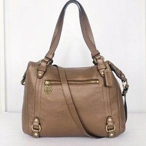 Coach Alexandra Copper Leather Handbag